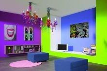 Kolorowe ściany . ♥