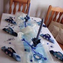 dekoracja stołu,urodziny