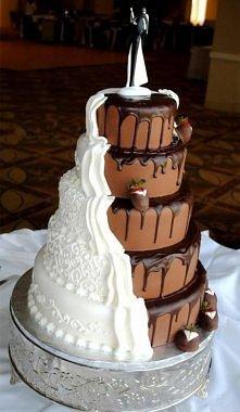 Tak.. już wiem jaki będzie mój tort ślubny. ;p