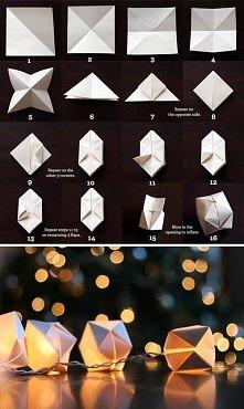 Bombka z origami