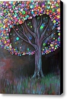 drzewo z guzików