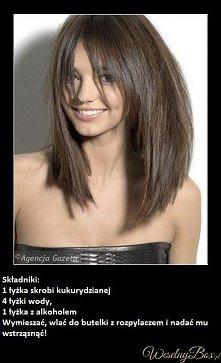 sposób na przetłuszczające się włosy .