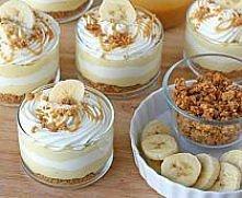 pudding bananowy