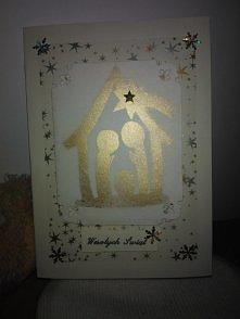 Kartka na Boże Narodzenie.