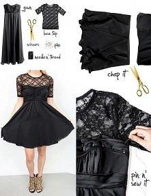 Przeróbka sukienki - DIY ;)