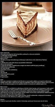 Sernik Nutella