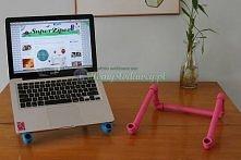 Podstawka pod laptopa wersja zrób to sam - model mały hydraulik