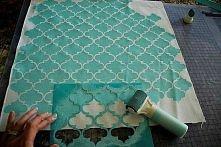 malowane na tkaninie