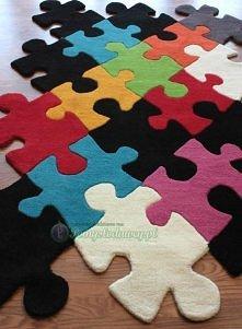 dywan z puzzli