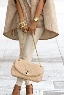 ładnie - w odcieniach beżu :)