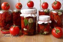 Suszone pomidory z ziołąmi  Przepis po kliknięciu w zdjęcie