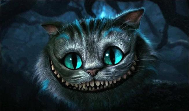 Kot Z Cheshire Na Disney Zszywkapl