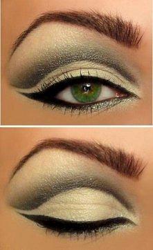 make-up dla zielonych oczu