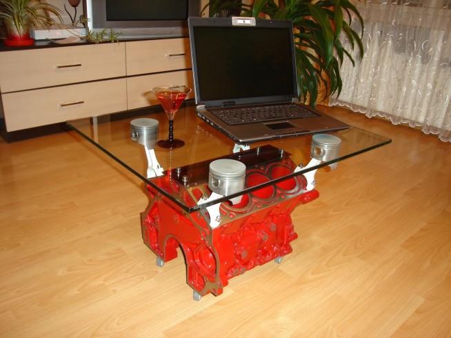 Stolik Z Bloku Silnika V6 Na Moje Pomysły Zszywkapl