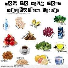 Coś na poprawę metabolizmu ;)