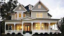 Dom z werandami