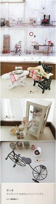 mini dollhouse