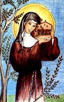 św. Klara, moja ukochana święta <3