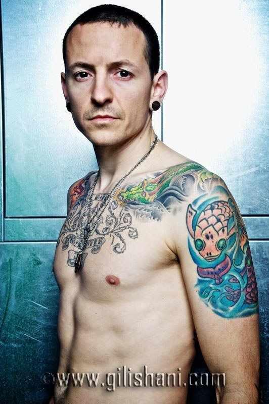 Chester Ideał Tatuaże Piercing Głos Talent Poczucie