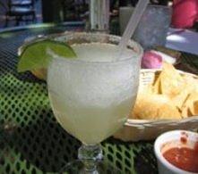 Margarita: tequila (40 ml) likier pomarańczowy (20 ml) sok z limonki (40 ml) lód sól limonka Przygotowanie drinka Do shakera z lodem wlewamy tequilę i likier, a następnie energi...