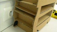 pierwsze kroki do robienia mebelek z kartonu