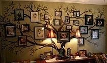Drzewo genealogiczne na scianie :)
