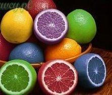 Po dobie w barwniku spożywczym ; )