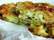 Okonomiyaki (placuszki z pora i kapusty)