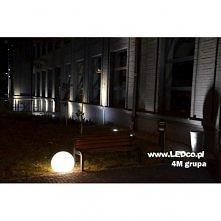 Świecąca kula może posłużyć jako lampa ogrodowa, oświetlenie tarasu czy podwórka. Zastąp już dziś zwyczajne lampy ogrodowe czymś nowym, rozświetl swoje otoczenie dzięki świecący...