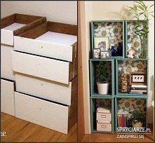 Pomysł na stare szuflady