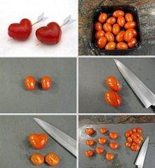 Koktailowe serduszka pomido...