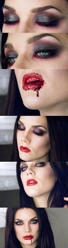 Halloween make up: the vampire