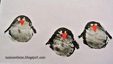 pingwiny odbite z ziemniacz...