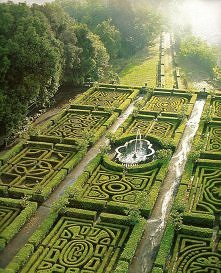 Maze Gardens at Ruspoli Cas...