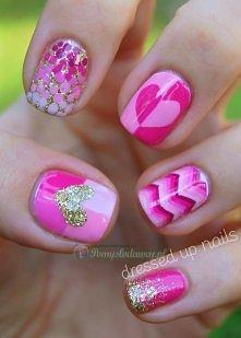 Walentynkowe pomysły na manicure!