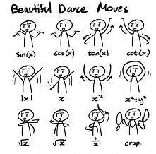matematyczny taniec :P