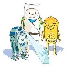 Adventure Time! w wersji star wars