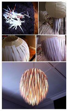 Papierkowa lampa :)