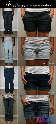 spodnie w nowym życiu