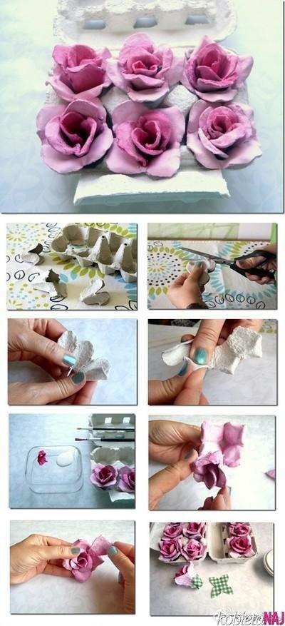 różyczki papierowe
