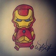 Iron man  w moim szkicowniku Tradycyjnie zapraszam do śledzenia www instagram...