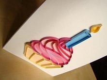 Kartka urodzinowa 3D