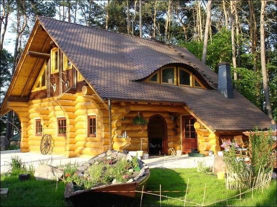 Niesamowite Taki domek w górach albo na mazurach- marzenie! na Pomysły BL94