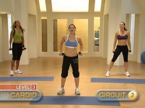 Jillian Michaels 30.day.shred level 3 Najlepsze ćwiczenia jakie kiedykolwiek znalazłam zakwasy wszędzie (dosłownie) a co ważne Cardio jezeli chcecie schudnąć to podstawa. Błędem jest budowanie mięśni pod tłuszczem :) przez pierwsze 10 dni level 1 kolejne 10 dni level 2 i ostatnie 10 dni level 3...
