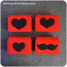 Walentynkowe portfeliki