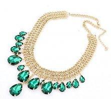 biżuteria, naszyjnik, biżu, kolia, prezent, walentynki, obroża, asos, romwe, H&M, kamienie złota, kolorowa, czarna, rożowa, pistolety, naboje, hipsterska, zielona, szmaragdo...