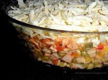 Zapiekanka ryżowa. (przepis po kliknięciu w zdjęcie)