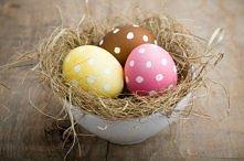jajeczka w kropeczki:)