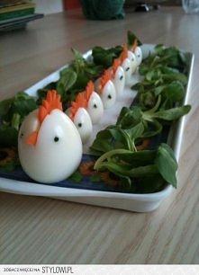 Ozdobne jajka:)