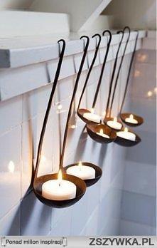 Świeczki.